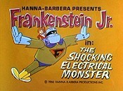The Shocking Electrical Monster Cartoon Character Picture