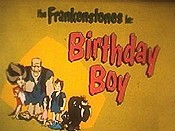 Birthday Boy Picture Of Cartoon