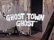 Ghost Town Ghost Cartoon Character Picture