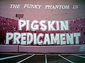 Pigskin Predicament Cartoon Character Picture