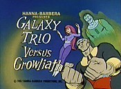 Galaxy Trio Versus Growliath Free Cartoon Picture