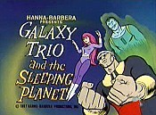Galaxy Trio And The Sleeping Planet Cartoon Picture