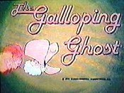 The Galloping Ghost Cartoon Picture