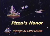 Pizza's Honor Picture Into Cartoon