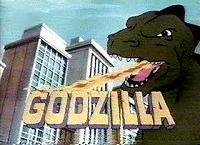 The Godzilla / Hong Kong Phooey Hour (Series) Picture Into Cartoon