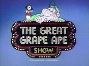 The Great Grape Ape Show Picture To Cartoon