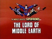 The Lord Of Middle Earth Cartoon Picture