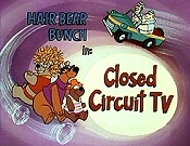 Closed Circuit TV Cartoon Picture