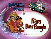Rare Bear Bungle Picture Into Cartoon
