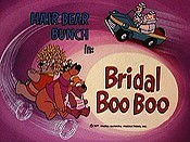 Bridal Boo Boo The Cartoon Pictures