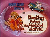 Kling Klong Versus The Masked Marvel Cartoon Picture
