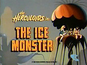 The Ice Monster Cartoon Character Picture