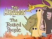 The Beaked People Picture Into Cartoon