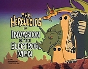Invasion Of The Electrode Men Cartoon Picture