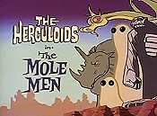 The Mole Men Picture Into Cartoon