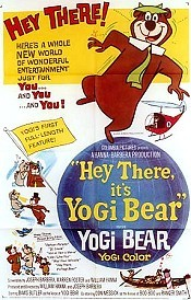 Hey There, It's Yogi Bear Cartoon Character Picture