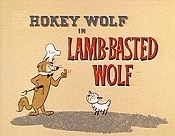Lamb-Basted Wolf Cartoon Picture