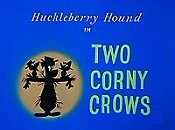 Two Corny Crows Cartoon Picture