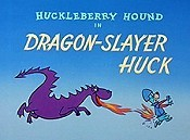 Dragon-Slayer Huck Picture Into Cartoon