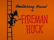 Fireman Huck Picture Into Cartoon