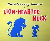Lion-Hearted Huck Picture Into Cartoon