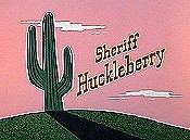 Sheriff Huckleberry Picture Into Cartoon