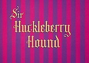 Sir Huckleberry Hound Free Cartoon Pictures
