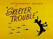Skeeter Trouble Cartoon Picture