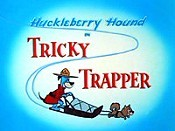 Tricky Trapper Cartoon Picture