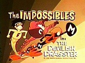 The Devilish Dragster Cartoon Character Picture