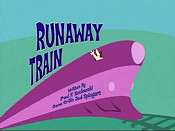 Runaway Train Cartoon Picture