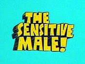 The Sensitive Male Cartoon Picture