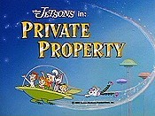 Private Property Picture Into Cartoon