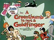 A Greenthumb Is Not A Goldfinger Free Cartoon Picture