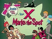 X Marks The Spot Free Cartoon Picture