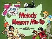 Melody Memory Mix-up Pictures Of Cartoon Characters