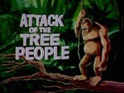 Attack Of The Tree People Cartoon Character Picture
