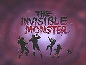 The Invisible Monster Cartoon Character Picture