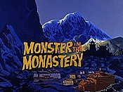 Monster In The Monastery Cartoon Picture