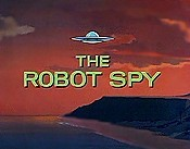 The Robot Spy Cartoon Character Picture