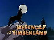 Werewolf Of The Timberland Cartoon Character Picture