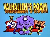 Valhallen's Room Cartoon Picture