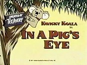 In A Pigs Eye Picture Of Cartoon
