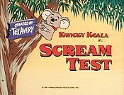 Scream Test Cartoon Pictures