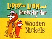 Wooden Nickels Cartoon Picture