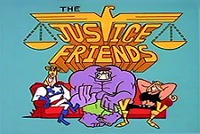 Justice Friends Episode Guide Logo