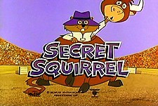 The Secret Squirrel Show Episode Guide Logo