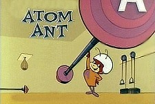 The Atom Ant Show Episode Guide Logo