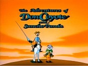 Don Coyote And The Masked Avenger Free Cartoon Pictures