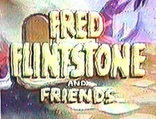 Fred Flintstone and Friends  Logo